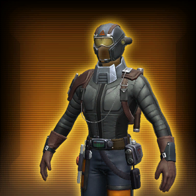 Duststorm Survivor's Armor Set