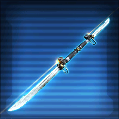 Savage Raider's Dual-Edged Vibrosword
