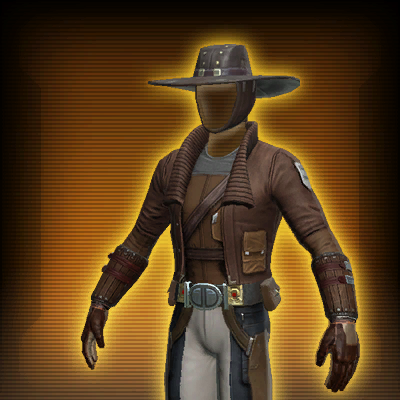 Outer Rim Gunslinger's Armor Set