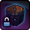 Locked Supply Crate: Smuggled Goods