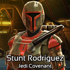 Stunt Rodriguez @ Jedi Covenant