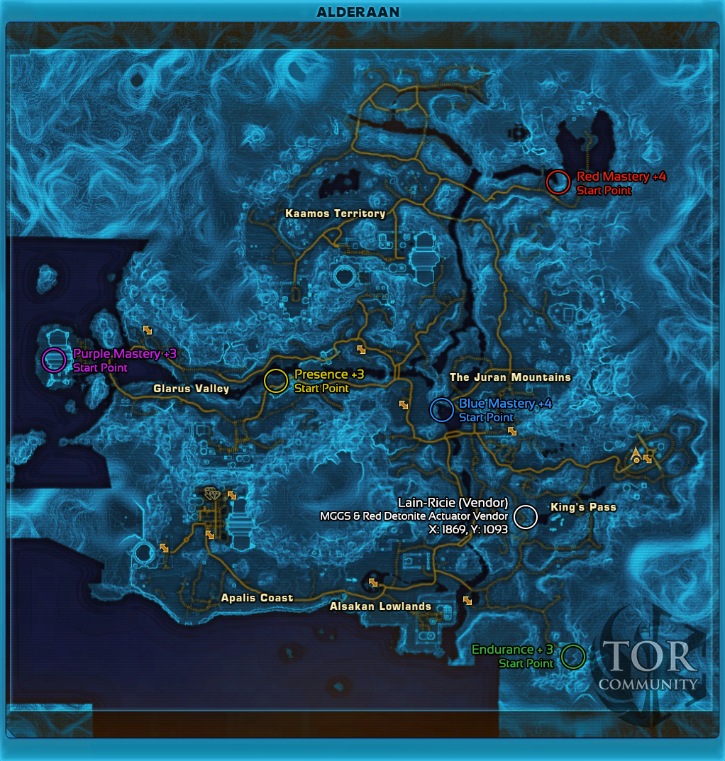Ord mantell datacron locations