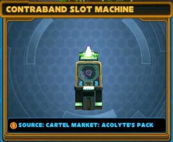 Contraband cartel slot machine swtor